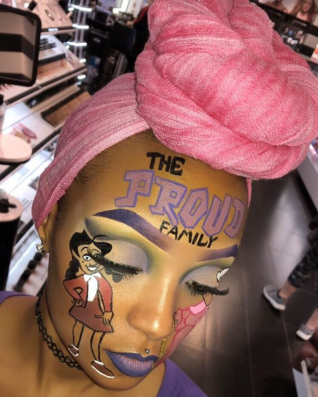 '90s Cartoon-Inspired Makeup is the Latest Beauty Trend to Hit Instagram
