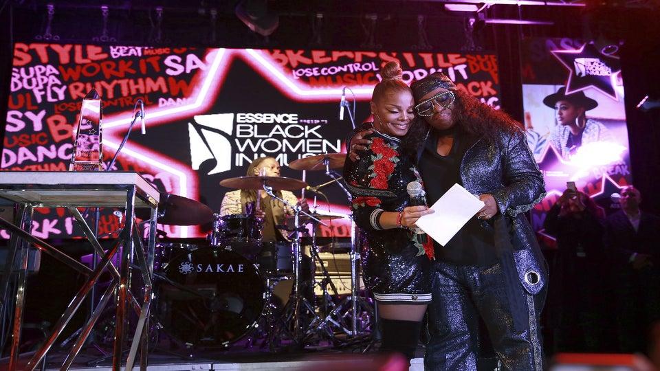 Watch Janet Jackson Surprise Missy Elliott During The 2018 ESSENCE Black Women In Music Event