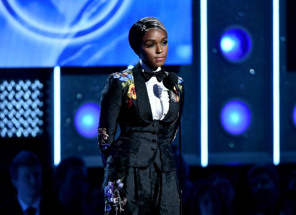 Janelle Monae Time's Up 2018 Grammys Speech