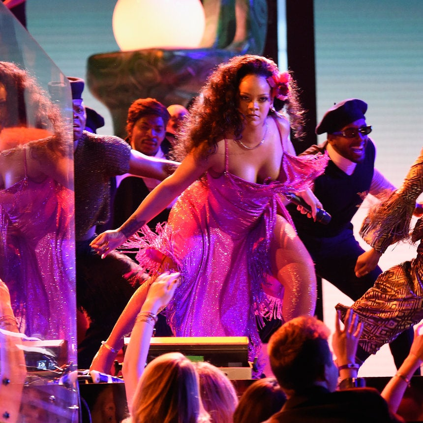 Get It Right: Rihanna Did A South African Dance At The Grammys