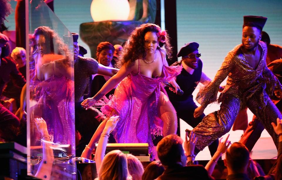 Rihanna's South African Grammy Dance