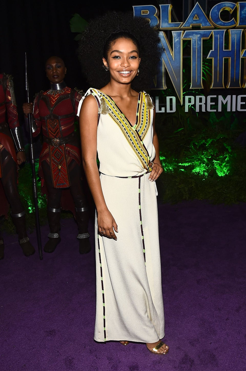 Yara Shahidi Pens Powerful Essay On'Black Panther:' It Gives Us 'Permission To Celebrate Our Diverse Culture'