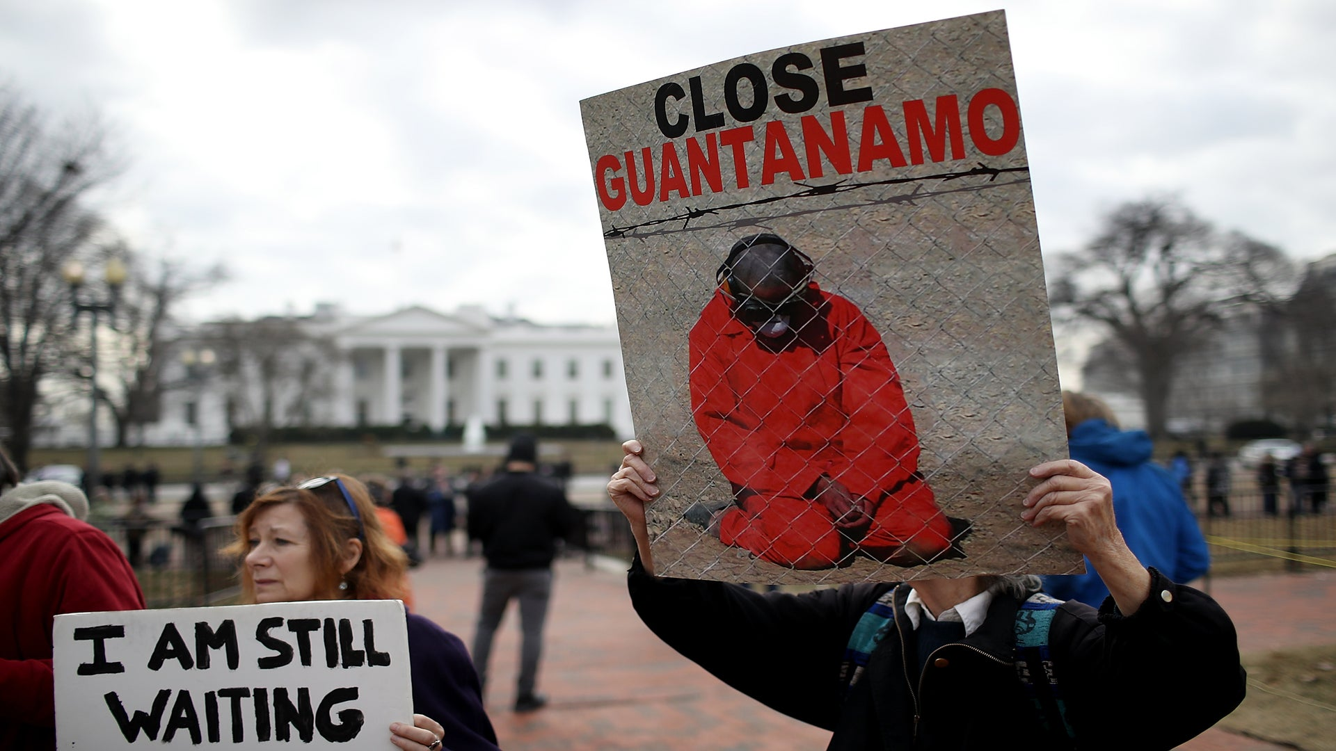 Right Before His First SOTUTrump Signed An Order To Keep Guantanamo Bay Open