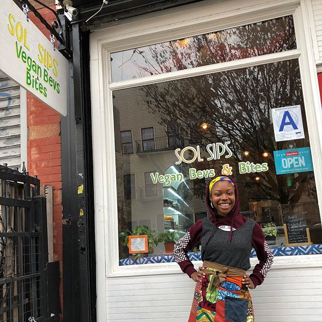 This Black-Owned Vegan Restaurant is Helping Brooklyn Become Greener, One Meal and Juice at a Time