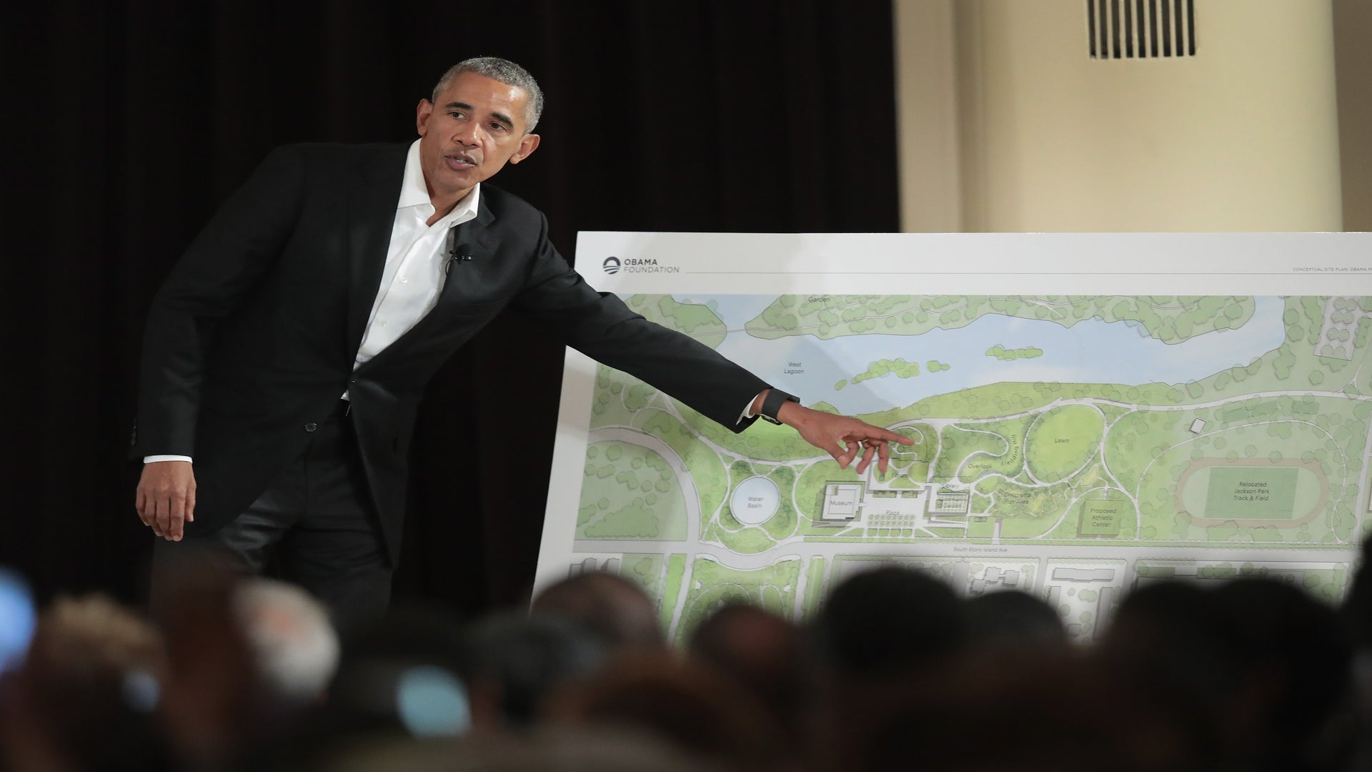 The Obama Foundation Moves Ahead With Presidential Center After Release Of New Design