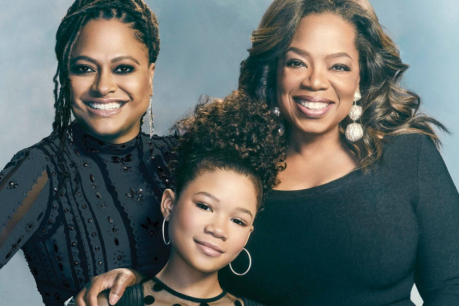 Oprah Winfrey, Ava DuVernay And Storm Reid 'A Wrinkle In Time ...