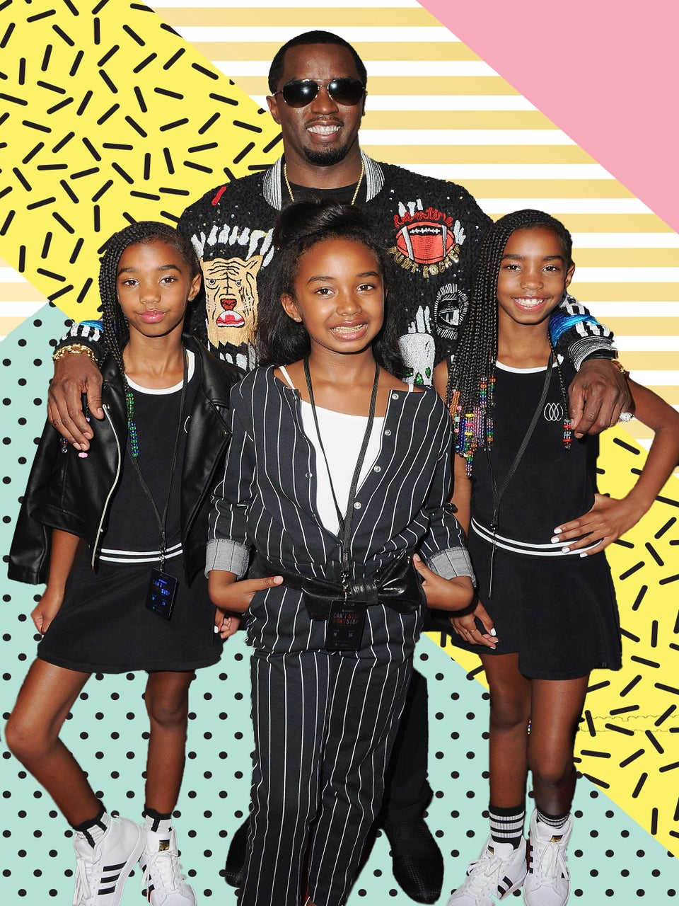 Diddy Learned His Daughters' Dance Routine And The Video Will Make Your Monday