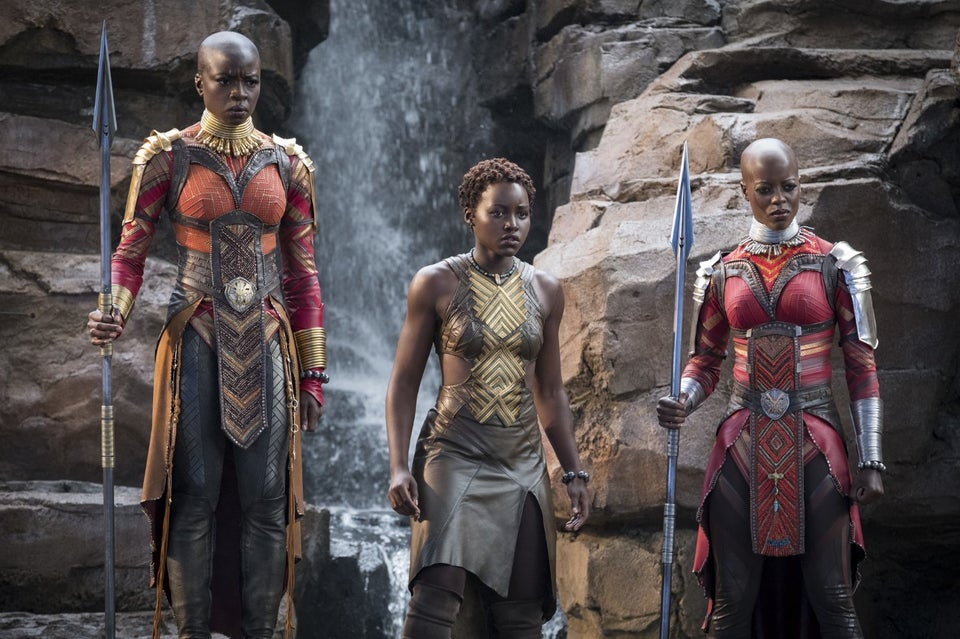 'Black Panther' Poster Recreated With Kids