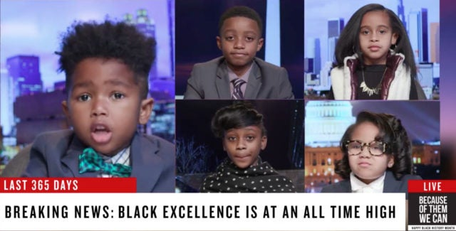 Black History Month: These Kids Debate Black Excellence In Adorable CNN Breaking News Skit