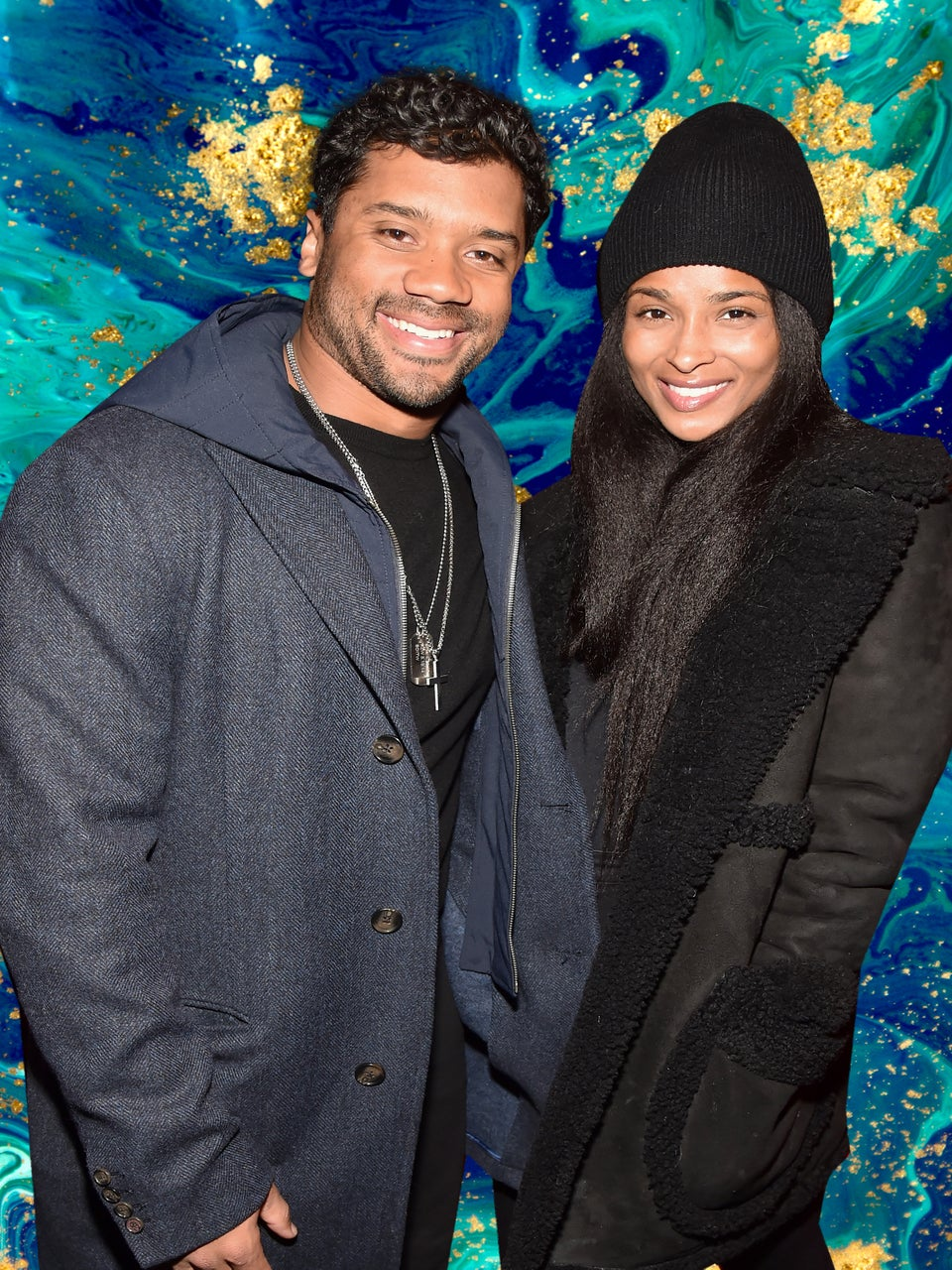 Ciara And Russell Wilson Snuggle Up During Super Bowl Weekend
