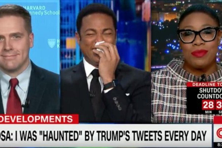 Don Lemon Can't Keep It Together After This Symone Sanders ...