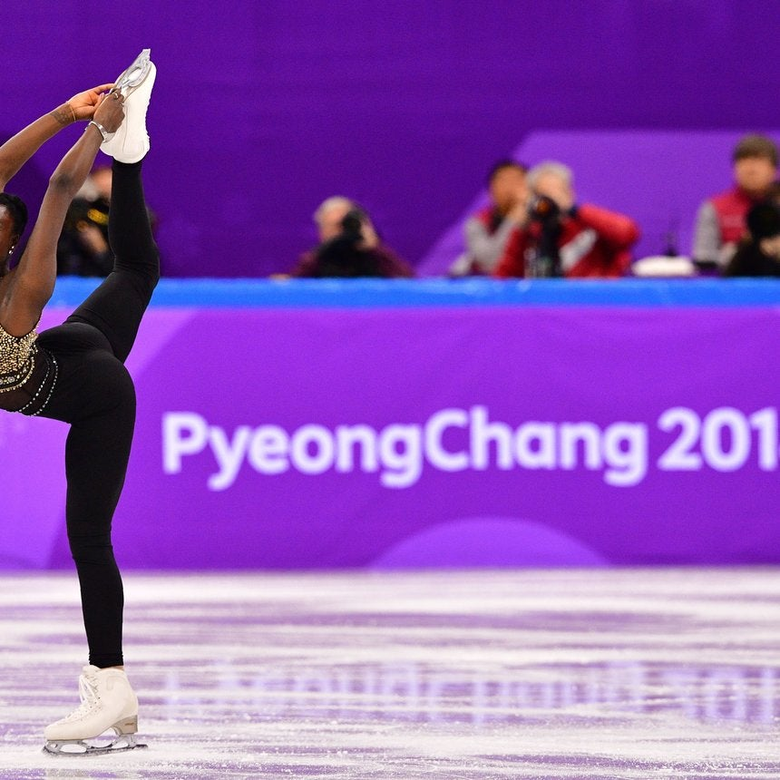 This French Figure Skater Slayed The Ice Rink With Her Beyoncé-Themed Olympic Routine