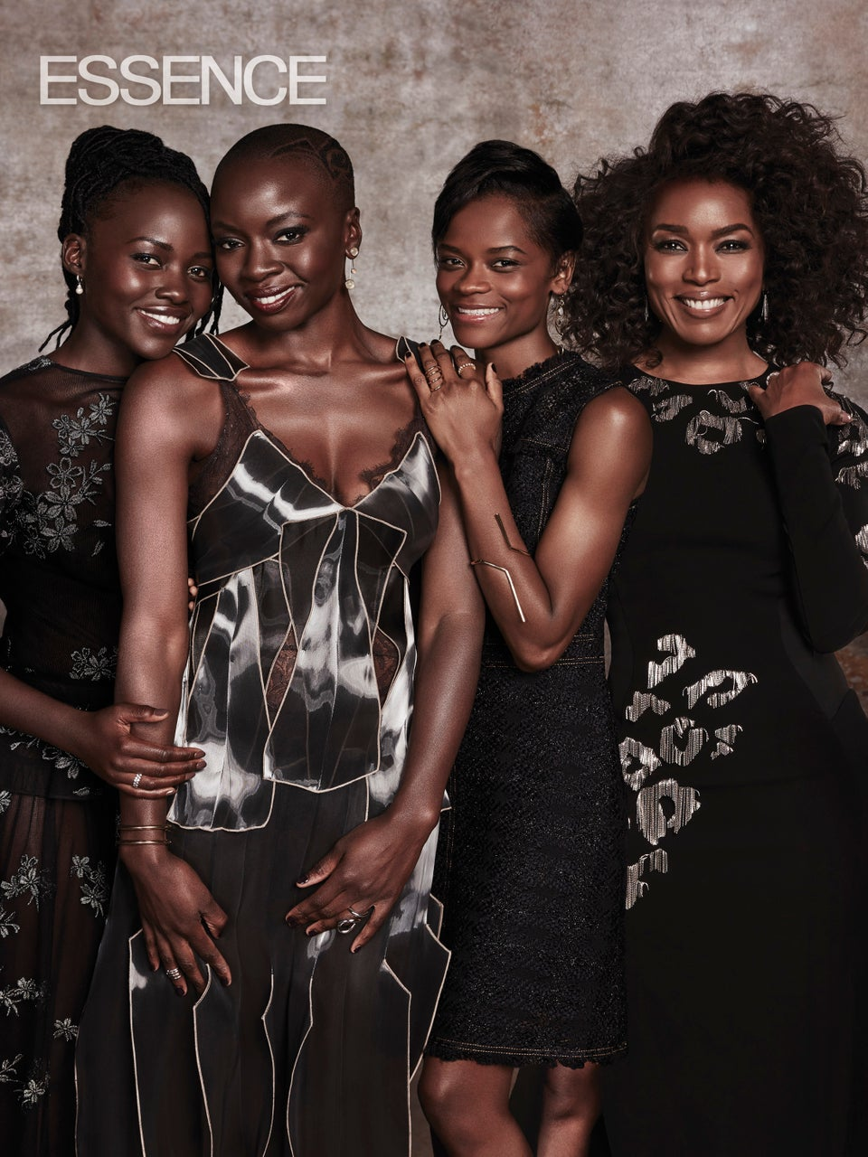 The Cast Of 'Black Panther' Share Why Women Are Central To Wakanda