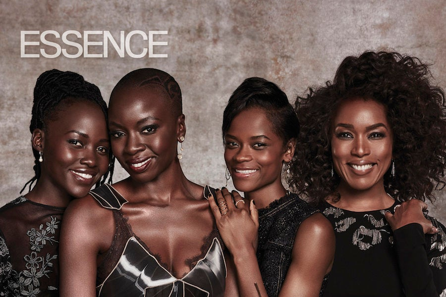'Black Panther' Cast ESSENCE's March 2018 Cover - Essence