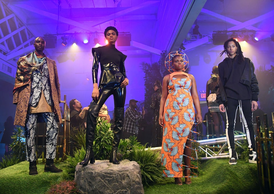 Welcome To Wakanda: 17 Stunning Images Of The Black Panther-Inspired New York Fashion Week Showcase