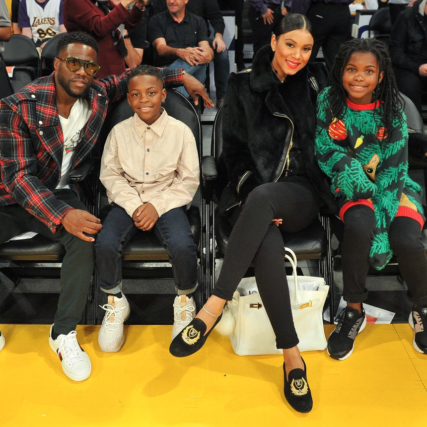 Kevin Hart's Daughter Heaven Gave The Sweetest Love Note To Stepmom Eniko