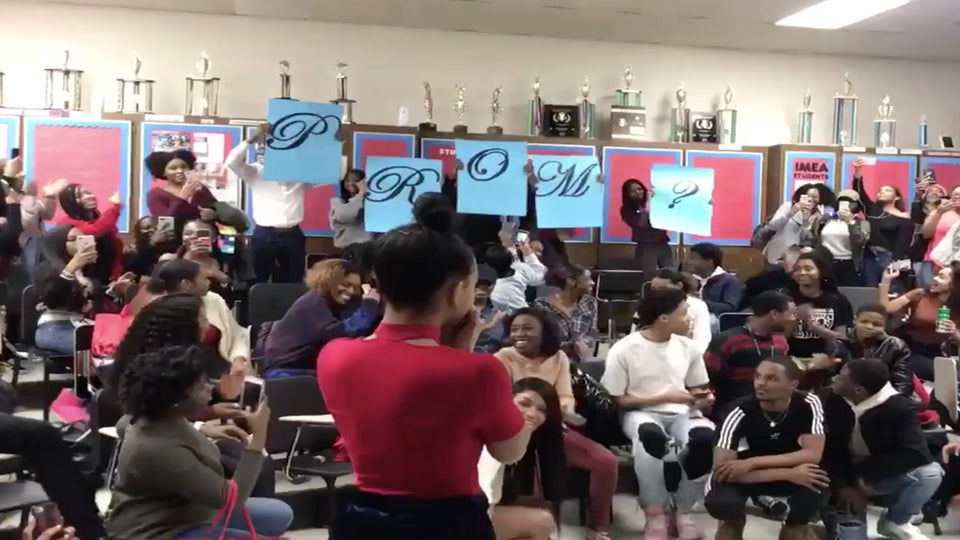 WATCH: Daniel Caesar, H.E.R. And A High School Choir Helped This Teen Pull Off The Ultimate Prom Proposal