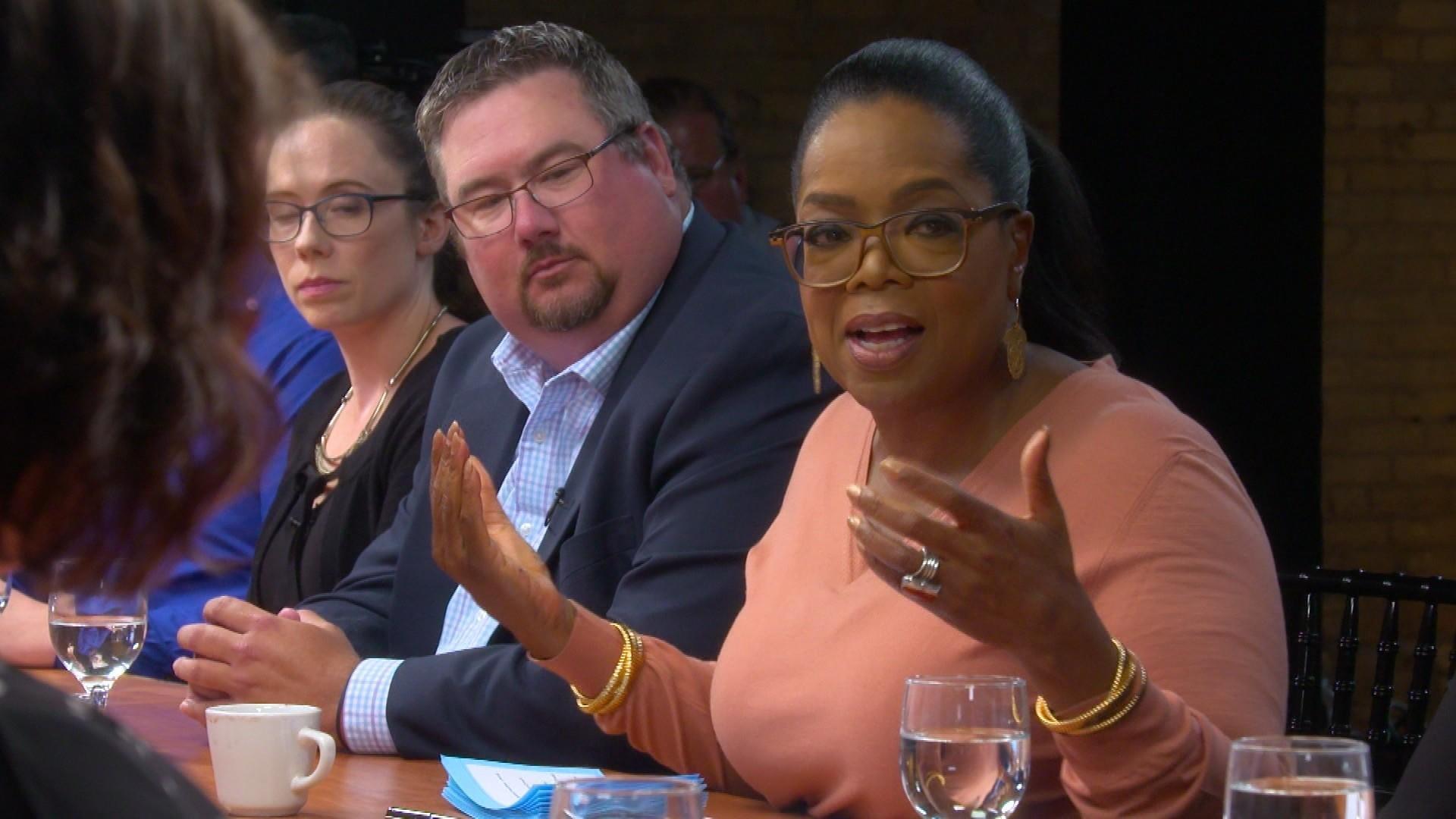 President Trump Trolls Oprah After '60 Minutes' Segment
