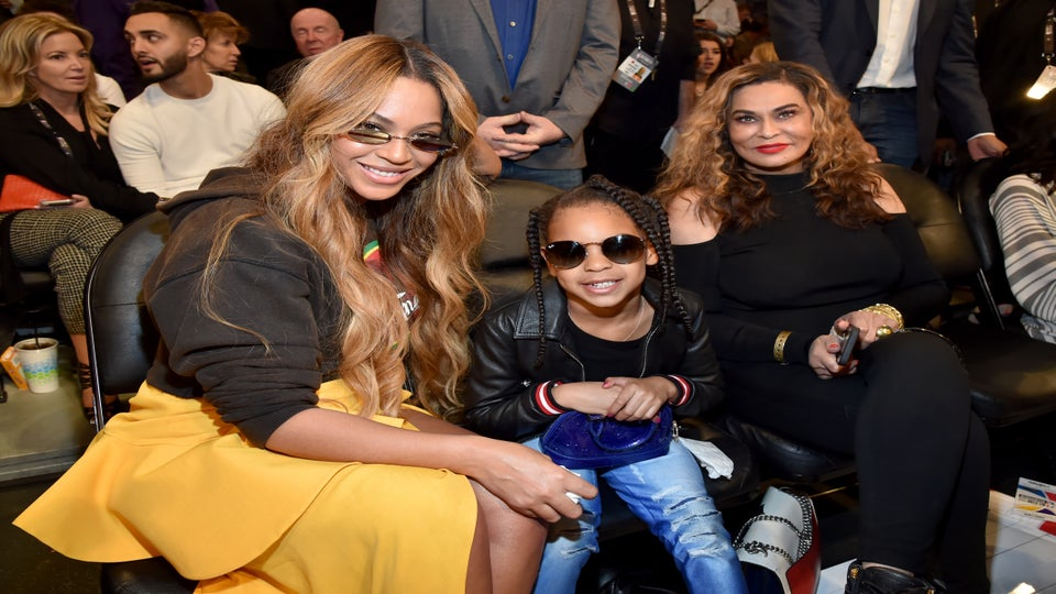Blue Ivy Just Wants Her Grandmother, Tina Knowles Lawson, To Follow The Rules