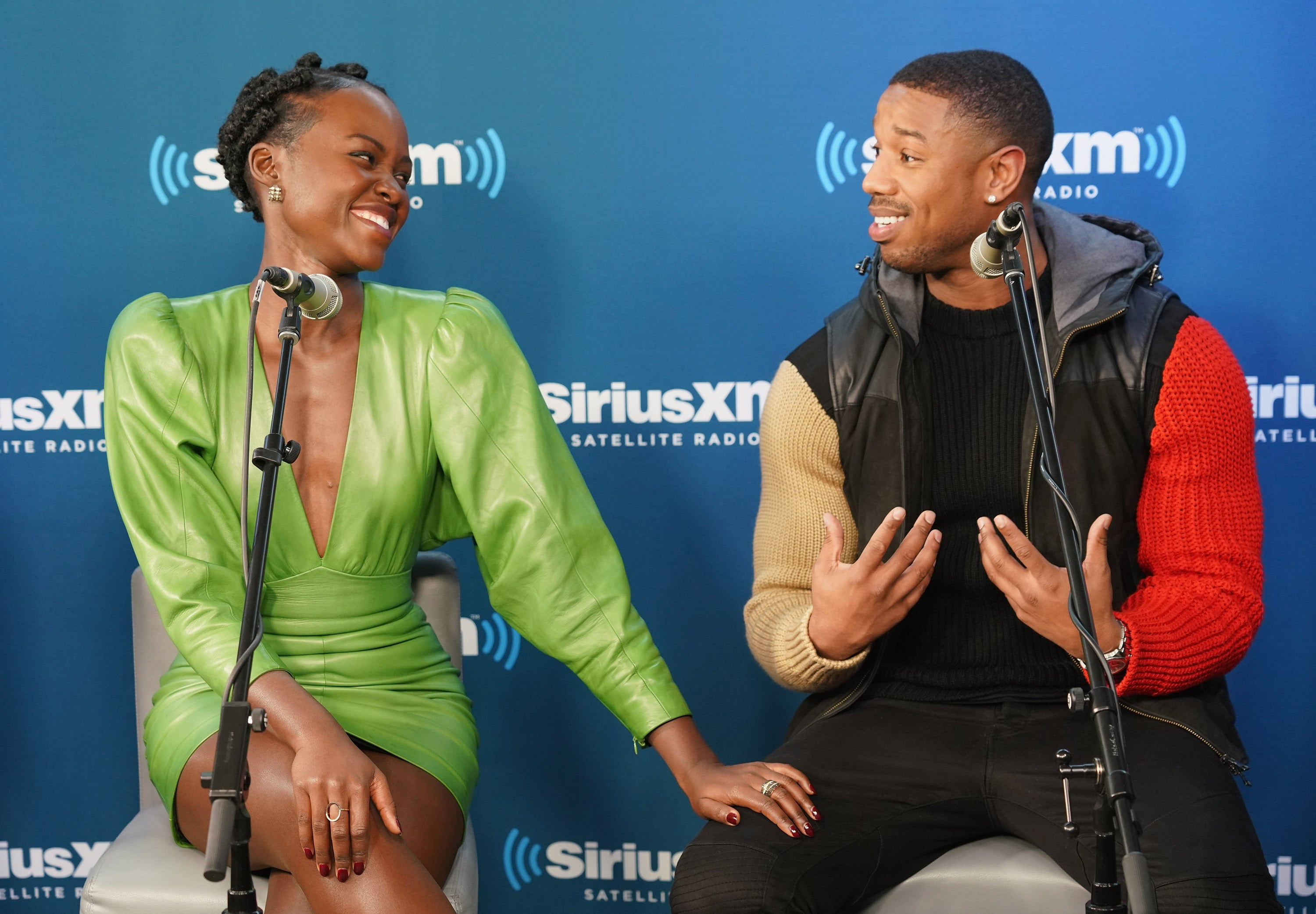 No, Lupita Nyong'o And Michael B. Jordan Weren't Actually Flirting Despite Wishful Thinking From Fans