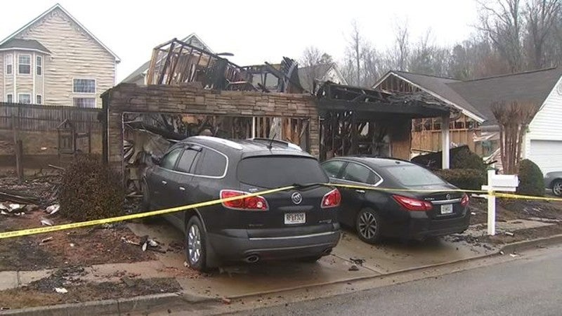 Woman Starts Massive Fire After Losing Home In Divorce Settlement