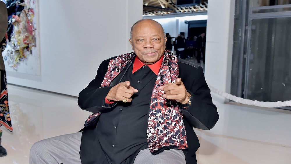 Quincy Jones Apologizes For 'Word Vomit' After String Of Highly Entertaining Interviews