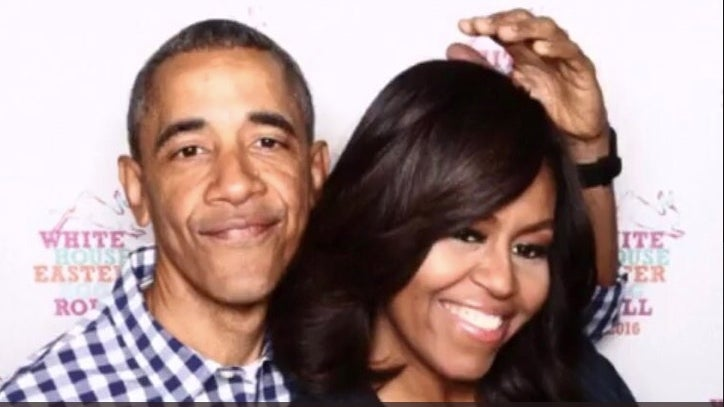 We Are Loving These Goofy Throwback Photos Of Barack And Michelle Obama