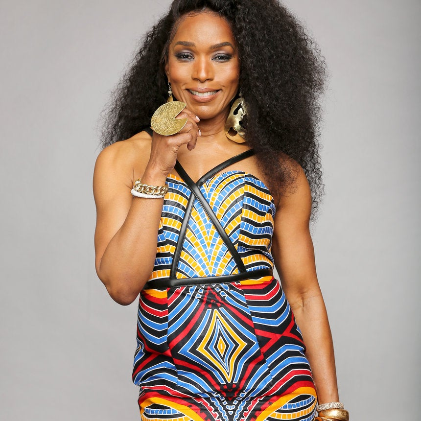 Angela Bassett Wears $169 African-Inspired Dress On Red Carpet And We Need It Now