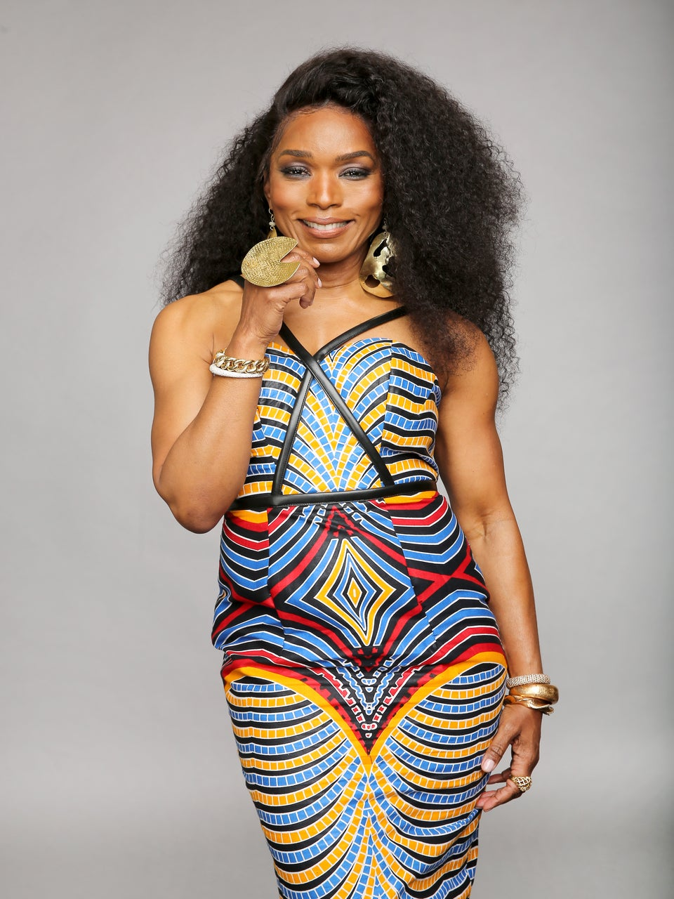 Angela Bassett Wears $169 African-Inspired Dress