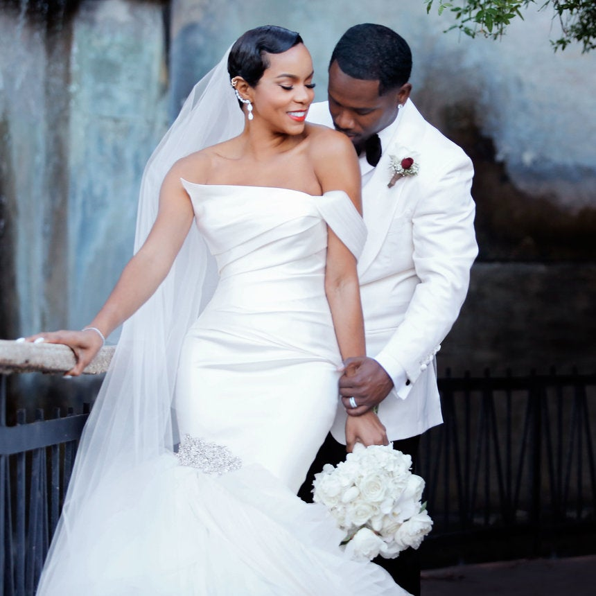 More Amazing Photos From LeToya Luckett's Wedding Day You Didn't See