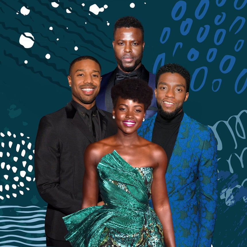 We Want Whatever Lupita Nyong'o Has To Make All Of Her 'Black Panther' Castmates Fall In Love