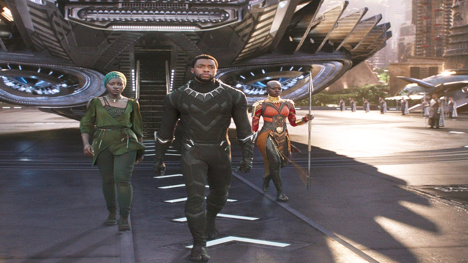 'Black Panther' Debuts With A Whopping $218 Million Opening Weekend
