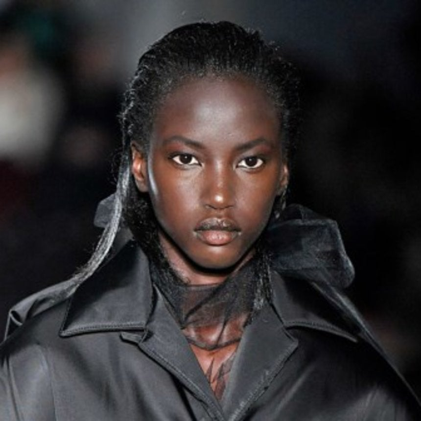 Anok Yai Becomes The First Black Model To Open The Prada Runway Show In Over 20 Years