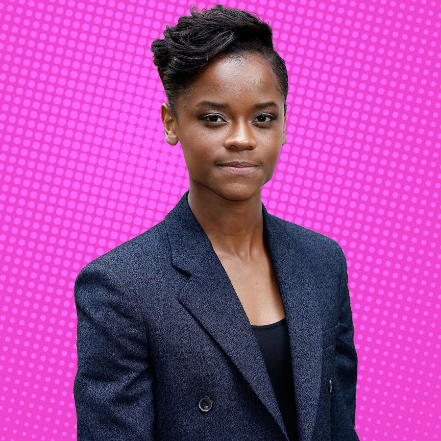 'Black Panther' Star Letitia Wright Is Nervous About Her Shoe Game For This Reason