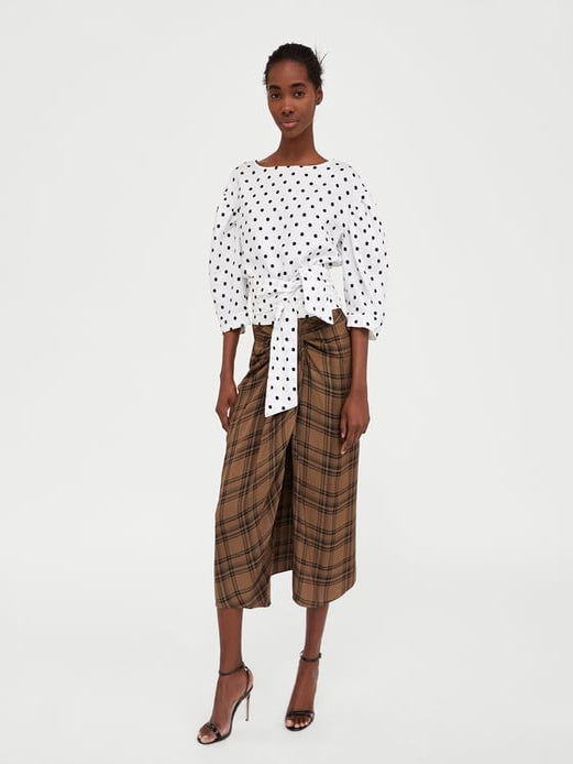 Zara Is Being Accused Of Cultural Appropriation For A Skirt That Resembles A Lungi