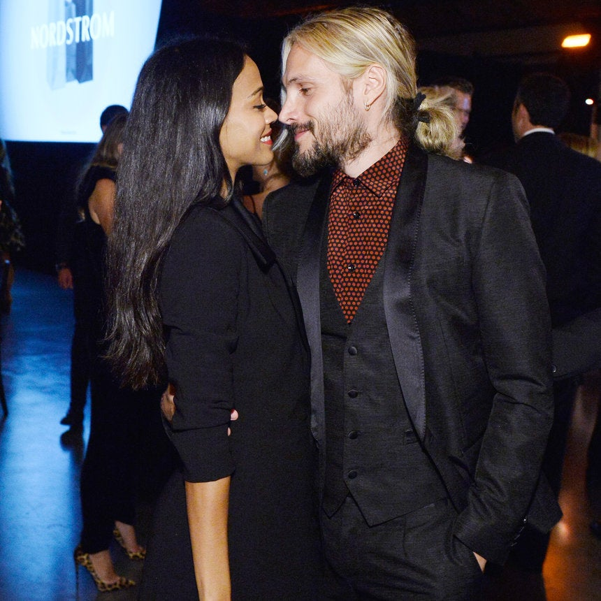 Zoe Saldana Wishes Her Husband A Happy Birthday With The Help Of Their Three Sons