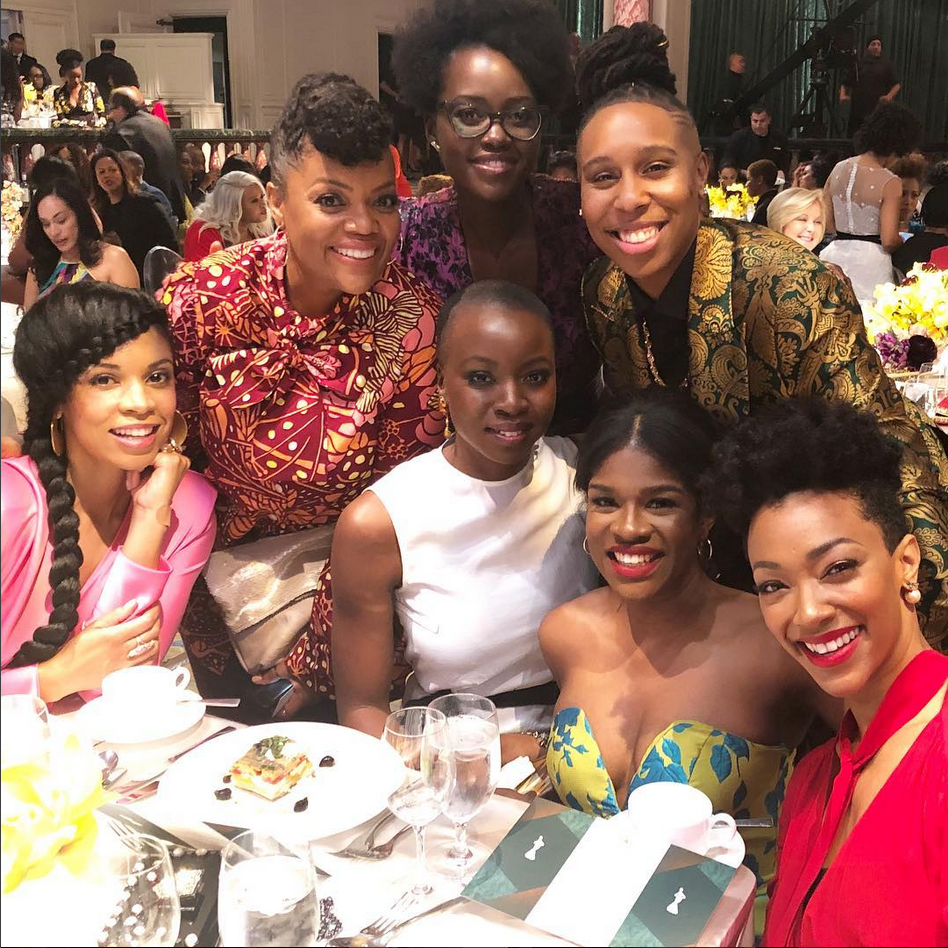 See What It Looked Like Behind The Scenes At The 2018 ESSENCE Black Women In Hollywood Awards