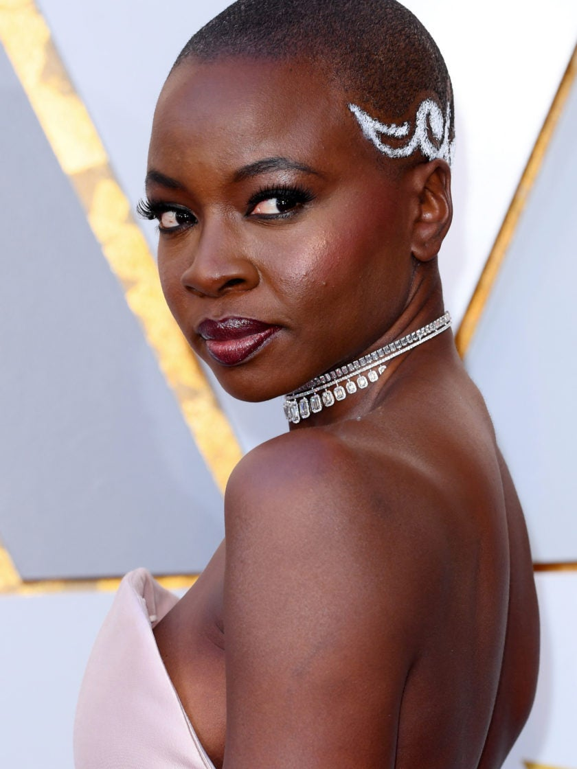 Danai Gurira's Gorgeous 2018 Oscars Hairstyle Was Inspired By African Ancestral Tribal Art
