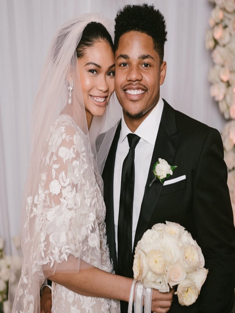 Chanel Iman And New York Giants Star Sterling Shepard Are Married