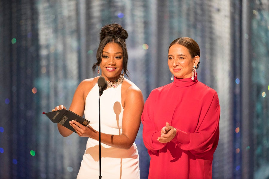 Tiffany Haddish And Maya Rudolph Need To Host The Oscars Next ...