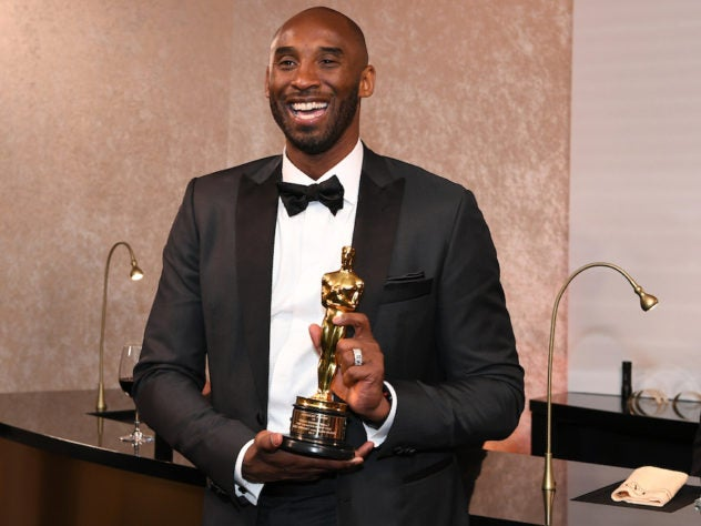 Kobe Bryant Takes Home An Oscar During The Year Of #TimesUp And People Aren't Happy About It