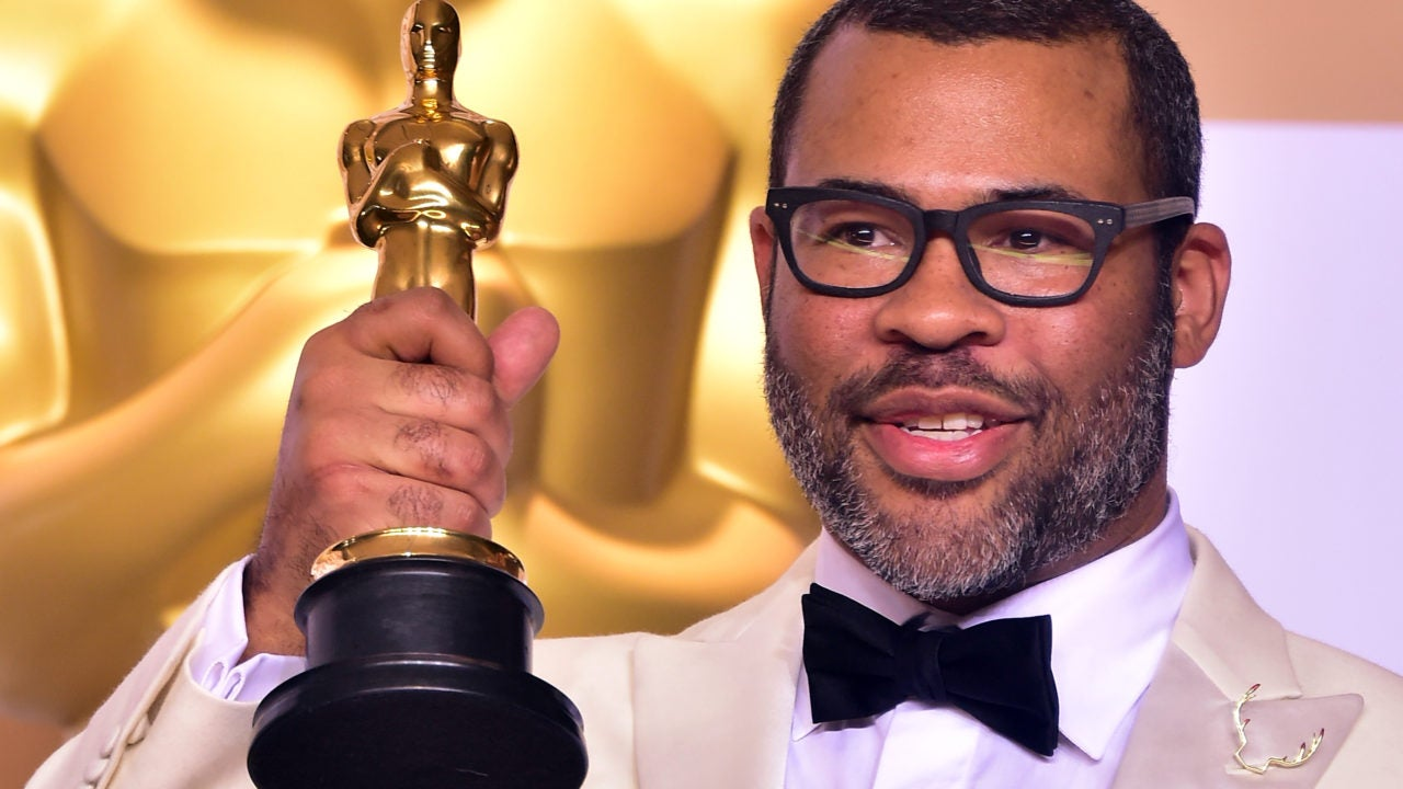Did You Catch Jordan Peele's Subtle Nod To 'Get Out' On The Oscars Red Carpet?
