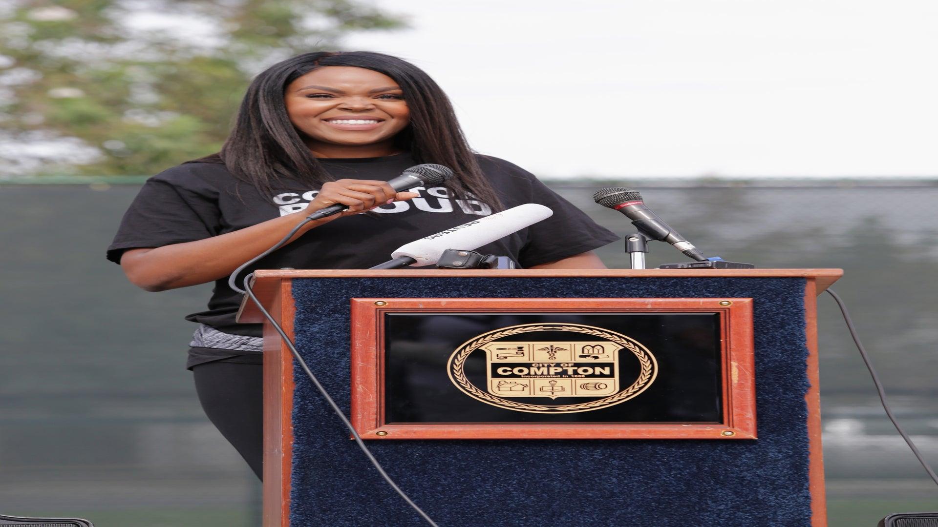 It's Official: Compton Mayor Aja Brown Announces Run For Congress