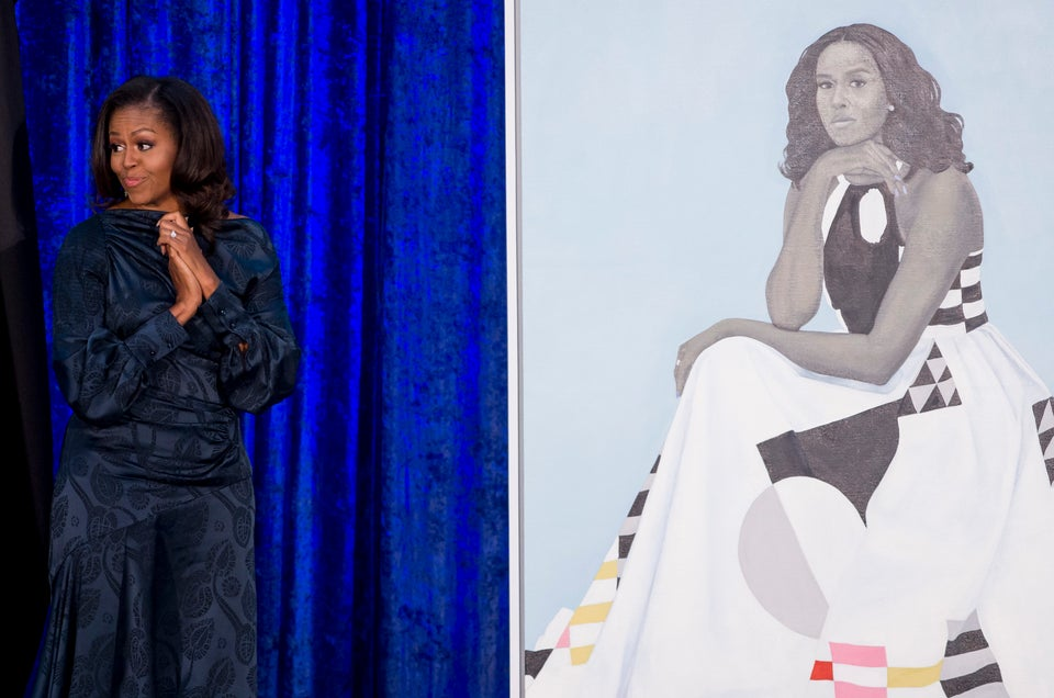 Michelle Obama's Portrait Is So Popular The Smithsonian Had To Move It To A Larger Space