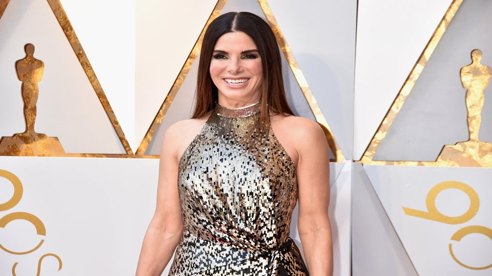Sandra Bullock Said 'Black Panther' Made Her Cry As The Mother Of 2 Black Children