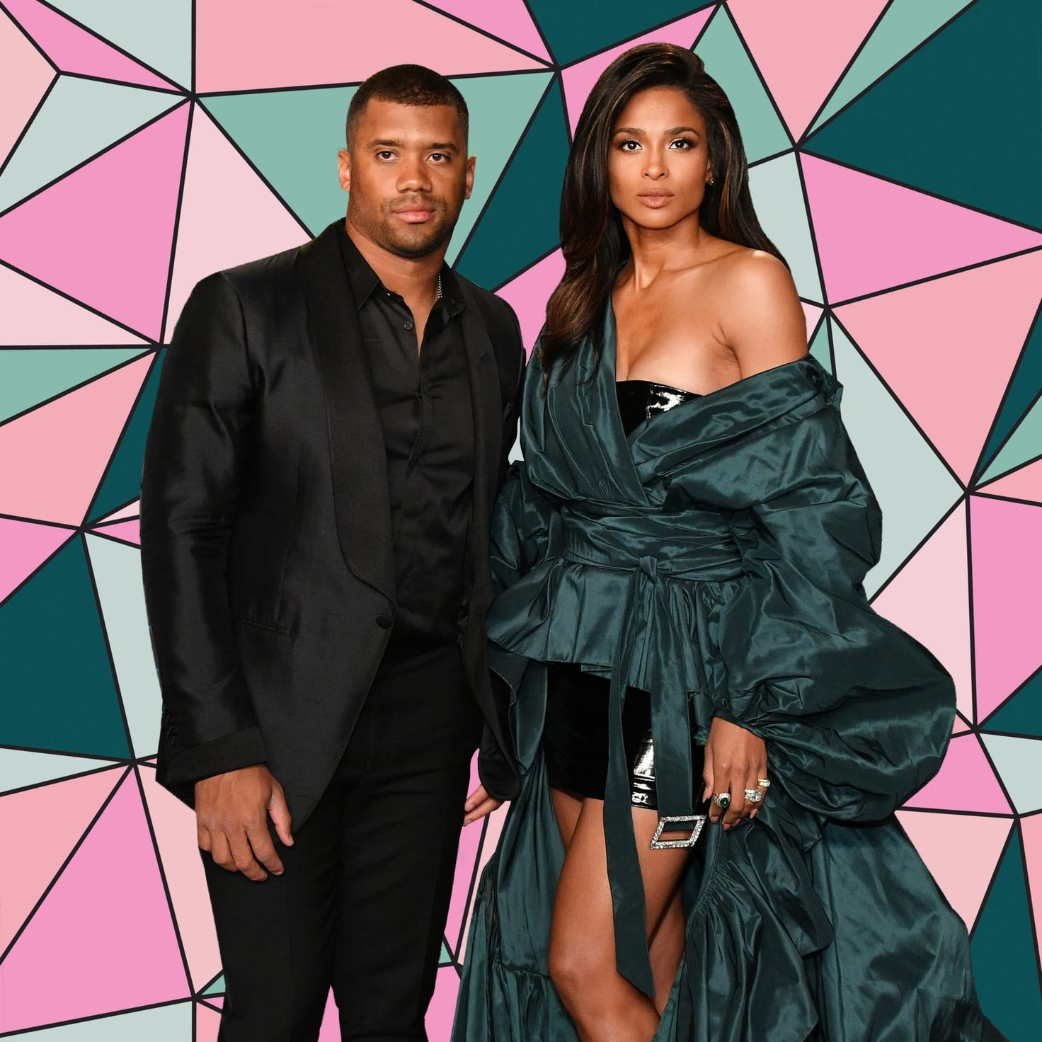 Russell Wilson Celebrates Becoming Highest Paid NFL Player By Cuddling Up To Ciara