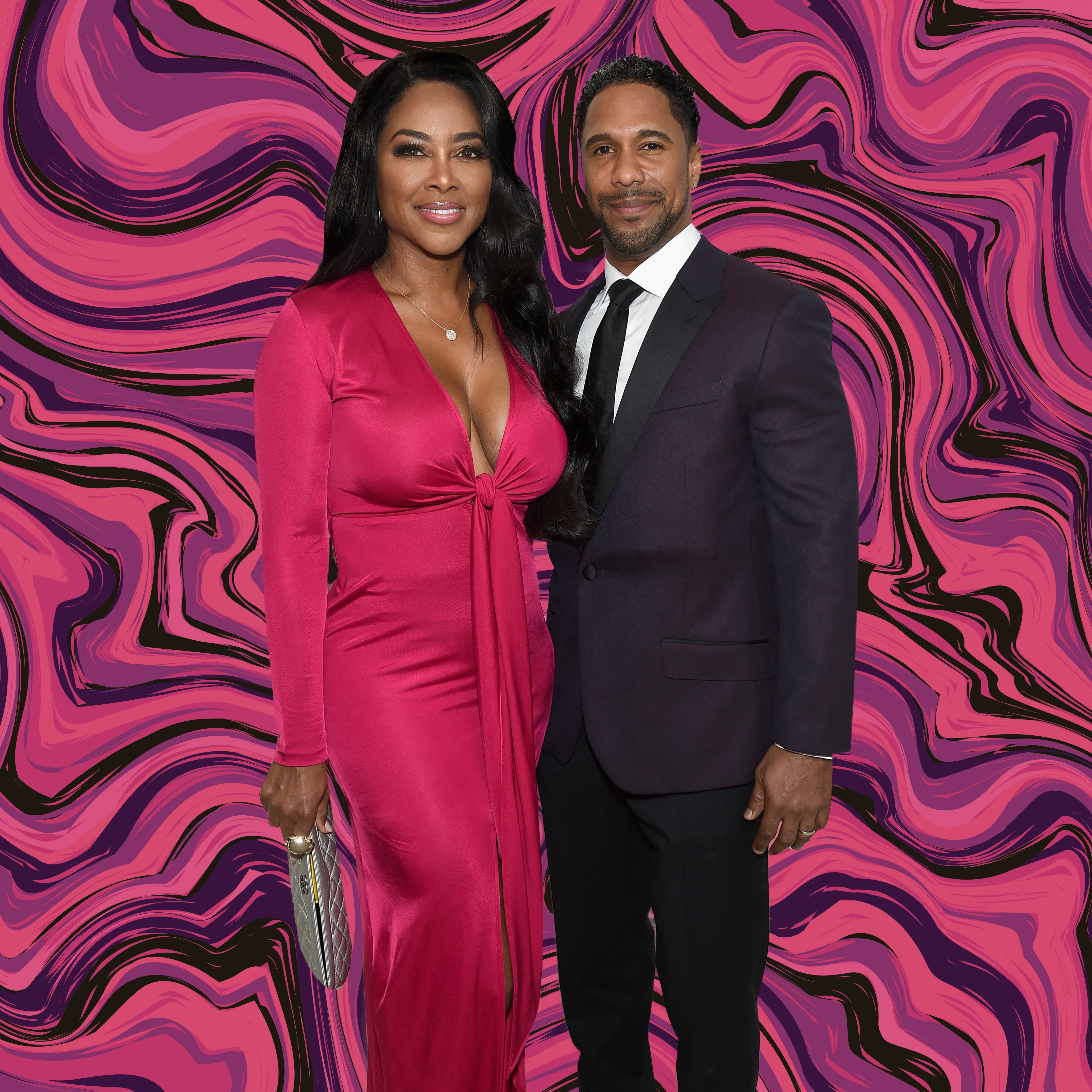 photos of kenya moore and husband marc daly essence