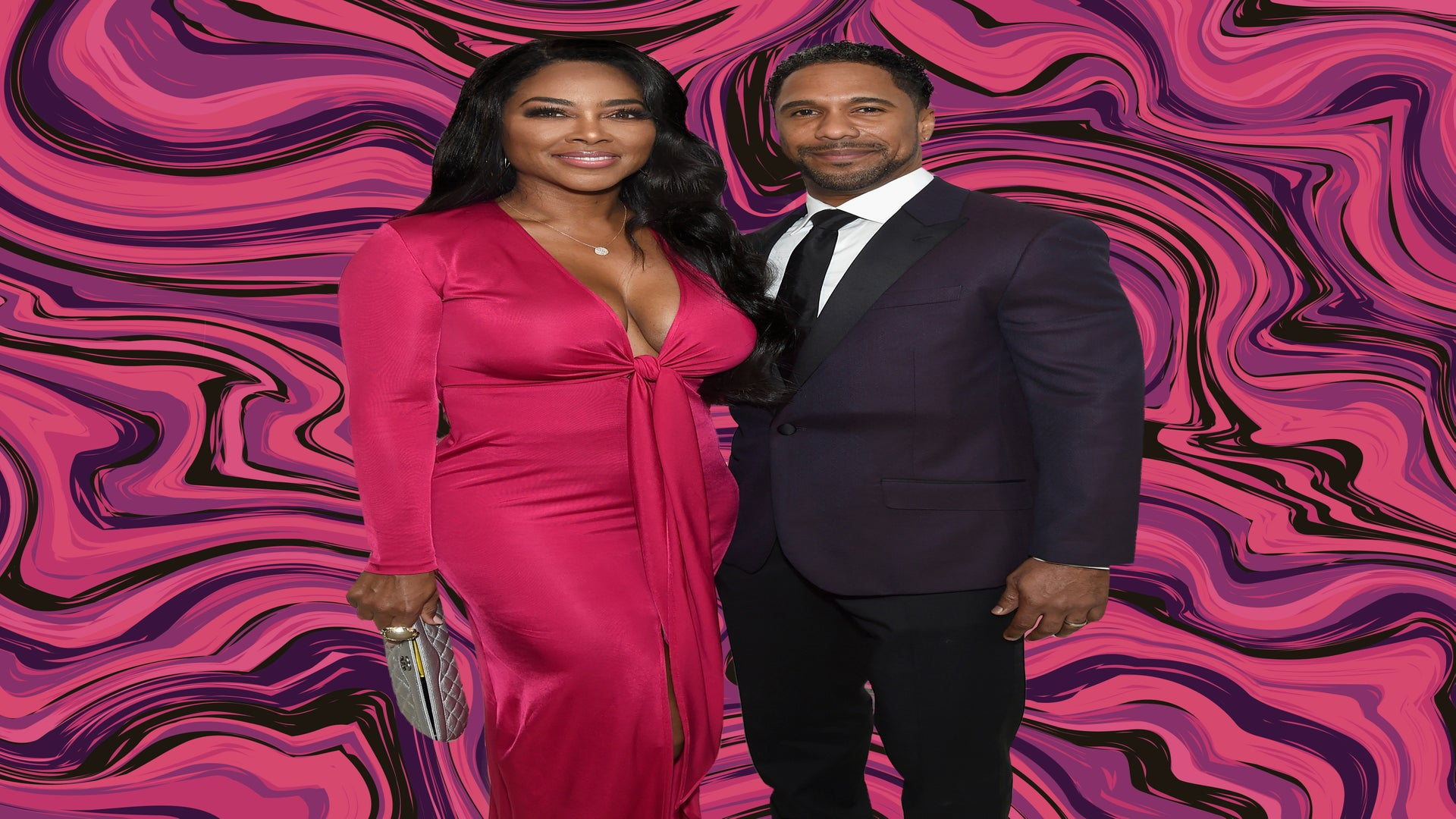 In Their First Joint Interview Kenya Moore and Husband Marc Daly Say It Was 'Love At First Sight'