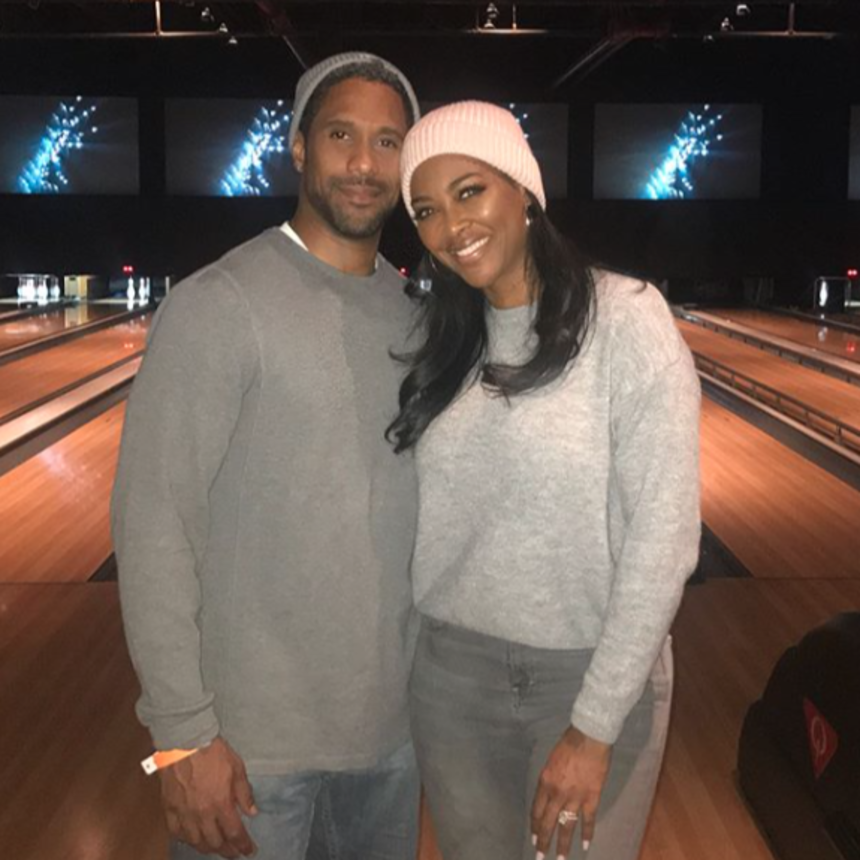 These Photos Of Kenya Moore And Her Husband Marc Daly Say It All