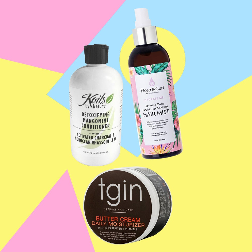 Natural Hair Healthy and Hydrated Products